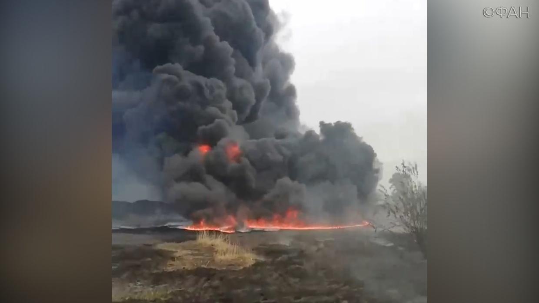 Пожар в Приютненском районе — МЧС России по Республике Калмыкия