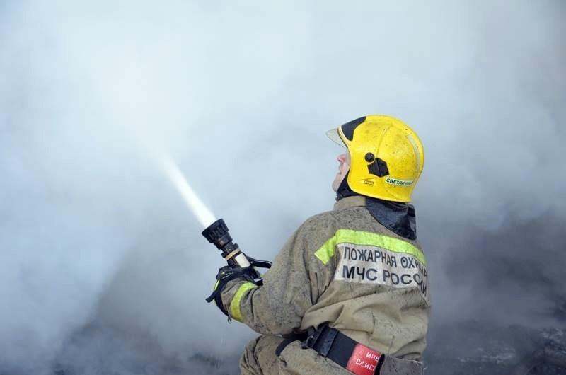 Пожар в Яшкульском районе — МЧС России по Республике Калмыкия
