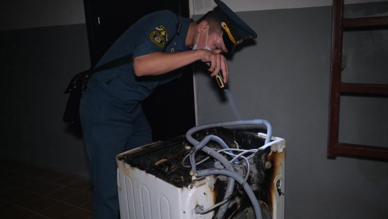 2 человека спасено на пожаре в Элисте